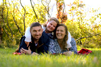 Katie & Jarrid's Family Session